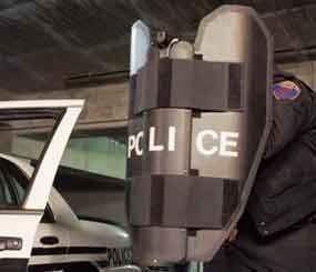 Baker Ballistics has experienced a dramatic increase in orders, mostly for their PatrolBat, one of the most cost-effective portable ballistic shields available.