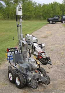 POWER HAWK N.E.R.A.T. Unmanned Robot