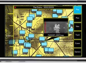 Photo courtesy RaytheonOne Force Tracker was based on military messaging standards that provide multimedia access, audio and textual point of interest, text messaging, and collaborative planning.