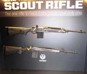 The the .308 bolt-action Ruger Gunsite Scout Rifle is a Ruger M77-based weapon developed with the help of the famed Gunsite Academy. (PoliceOne Image)