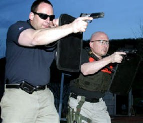 """The Compact Ballistic Control Shield: An """"outside the box"""" solution"""