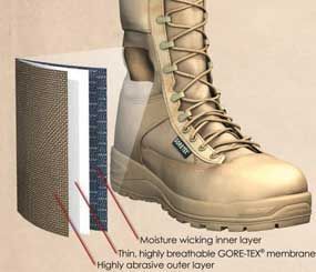 GORE-TEX Extended Comfort Footwear from W. L. Gore & Associates offer the breathability of a warm-weather boot, with the water-resistant benefits of waterproof boot. (Image Courtesy of W. L. Gore & Associates)