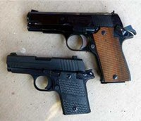 The SIG P938 is reminiscent of the Star PD