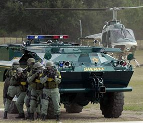 SWAT officers train to perform high-risk operations that fall outside of the abilities and training of regular uniformed officers. (AP Photo)