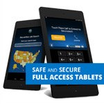 SecureView Tablets: low-cost, secure, multi-purpose communications