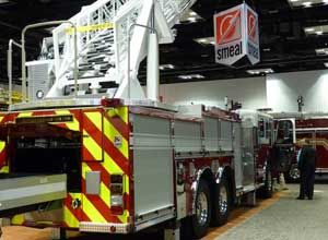 Photo Rick MarkleySmeal's latest rig is designed to carry a 10-foot folding attic ladder, a 14-foot Fresno ladder, two 16-foot roof ladders, a 24-foot, two-section ladder and a 35-foot, three-section ladder.