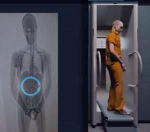 The ability to spot contraband items inside an inmate's body can greatly increase the level of security and operational efficiency for correctional facilities. (image/Smiths Detection)