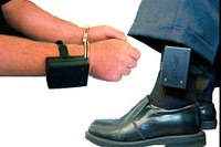 Delivering prisoner compliance with the Stun-Cuff