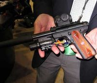 SHOT Show 2011: Silence is golden — and blue