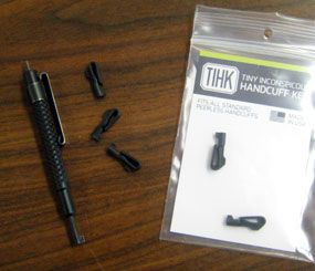 Product Review: The Tiny Inconspicuous Handcuff Key versus 8 pairs of cuffs