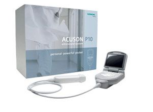 Photo Siemens The ACUSON P10 was designed with the FAST (Focused Assessment with Sonography in Trauma) exam in mind.
