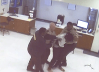 Video shows Ga. inmate's struggle with deputies before death