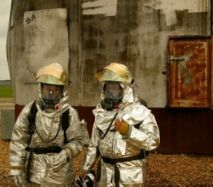 By adopting new requirements as part of NFPA involving independent testing and certification of PPE for restricted substances, concerns over one path of potential exposure can be eliminated. (Photo/USAF)