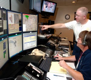 With technology changing quickly, what is in store for 911 dispatch centers, and how will it change the industry dynamic? (Photo/USAF)