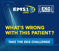 EKG case: Patient with reduced consciousness, neck rigidity