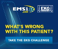 EKG case: Why did a patient's cardiac rhythm change during transport?
