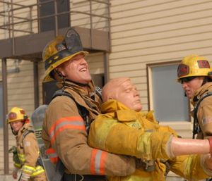 Training goals and outcomes should also be clear and measurable. But, when firefighters only train as a form of testing, several negative outcomes can result. (Photo/USAF)