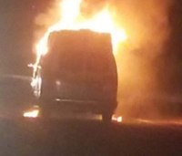 W. Va. fire dept. left with 1 ambulance after rig catches fire