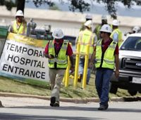 1 dead, 12 hurt in construction explosion at Texas hospital