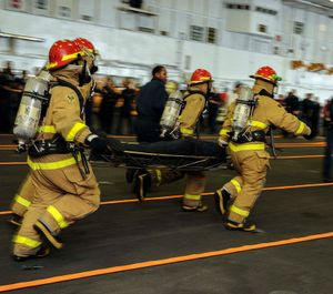NFPA 3000(PS)addresses all aspects of community response to an active shooter, from identifying hazards and assessing vulnerability to planning, resource management, incident management at a command level, competencies for first responders and recovery. (Photo/DoD)
