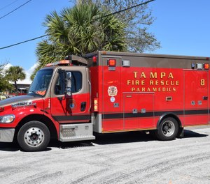 "A joint statement from Tampa Firefighters Local 754 and Johnson said ""he'd just like to get back to work and put this behind him and start fresh."" (Photo/Tampa Fire Rescue)"
