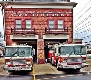 "the complaint, filed by International Association of Fire Fighters Local 198, alleges the city failed to ""act in good faith"" in promotions to captain, as well as failed to live up to contracted step raises. (Photo/Atlantic City Professional Firefighters Local 198 Facebook)"