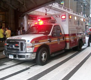 The ambulance patients' personal data, including at least 3,000 Social Security numbers, were transferred to an external device by an employee who had authorized access to the information. (Photo/Wikimedia Commons)