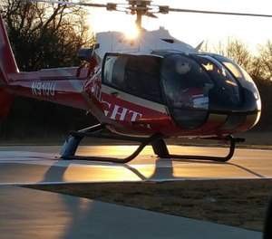 Life Flight will continue to offer their services in the area from the Life Flight 5 base in McAlester. (Photo/Mediflight of Oklahoma/Air Methods Facebook)