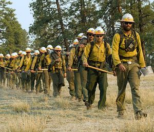 Experts say if the shutdown drags out, federal fire crews won't be ready for the months ahead, following a 2018 fire season that killed scores of people. (Photo/USDA.gov)