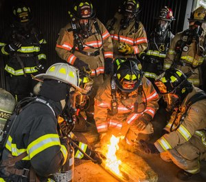 Only a dedication to lifelong learning and skills development can keep a firefighter ready and up to the task of modern emergency response. (Photo/USAF)