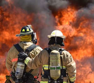 Unwanted sexual attention or contact is not only a problem for women in the fire service; men experience it as well. (Photo/DoD)