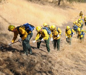 The funds are part of an effort to prevent catastrophic fires, such as the Camp Fire, by enabling and supporting local organizations to address the risk in their communities. (Photo/DoD)