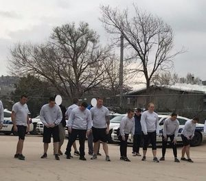 A fitness test given to Colorado Springs police officers discriminated against women and violated civil rights laws. (Photo/Colorado Springs Police Facebook)