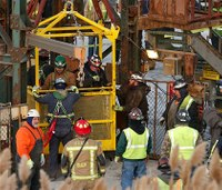 All 17 miners trapped in NY salt mine are rescued