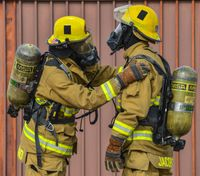 The firefighter gear contamination cycle