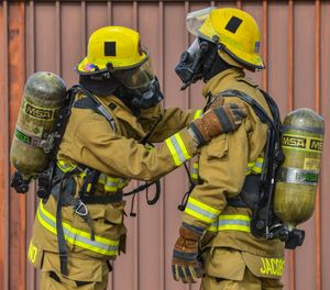 With all the knowledge of the risks, why would some firefighters still allow themselves to be exposed to toxins as a result of contaminated gear? (Photo/USAF)