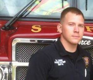 Firefighter Scott Deem died last year in a horrific blaze at the Spartan Gym. (Photo/San Antonio Fire Dept.)