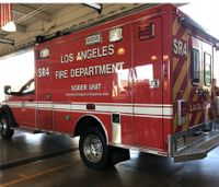 LAFD debuts 'SOBER unit' to pick up intoxicated homeless people