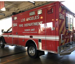 """The goal of SOBER is to reduce the number of times that so-called """"super-users"""" of the 911 system require visits to the emergency room. (Photo/SCPR)"""