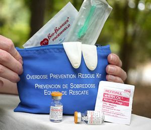 Three Massachusetts towns recently launched a pilot program to provide members of the public with naloxone. (Photo/AP)