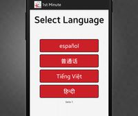 1st Minute app removes language barrier between medics and patients