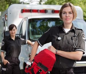 Using powered patient transport equipment decreases the risk of workplace injuries for EMS providers and improves the overall patient experience. (photo/iStock)