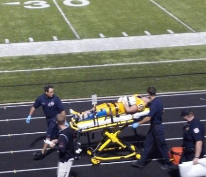 Data: How often does EMS respond to injured football players