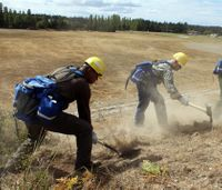 Veterans from around U.S. train to be wildland firefighters