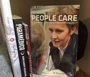"Thom Dick's principles and advice in ""People Care"" are a must read for any EMS professional (Picture/Greg Friese)"