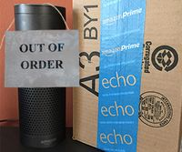 Chief destroys 6 Amazon Echos in a week with excessive order-giving