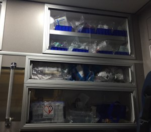Medical products are the broad range of supplies EMS professionals use to assess, treat, and transport patients. (photo/Greg Friese)