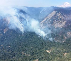 The Miriam Fire is currently 70 percent contained. (Photo/InciWeb.gov)