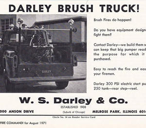 A Darley ad from the 1970s. (image/W.S. Darley Co.)