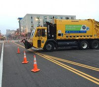 Using municipal vehicles to increase security at public events